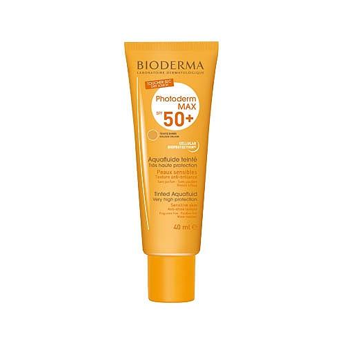 Bioderma photoderm max aquaflluide teinté doré spf 50+ 40ml