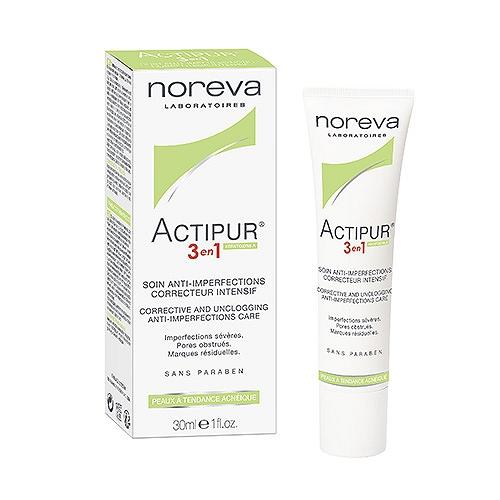 Actipur 3 en 1 soins anti imperfections noreva 30ml
