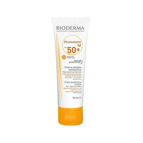 Bioderma photoderm m crème teintée dorée spf 50+40ml