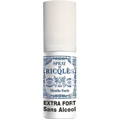 Spray buccal à la menthe forte 15ml