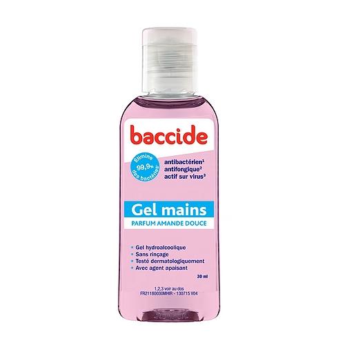 Baccide Gel 30ml Rose