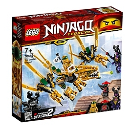Lego® Ninjago® - Le Dragon D'or - 70666 - 70666