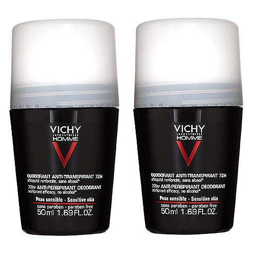Vichy lot*2 deodorant bille anti transpirant 2x50ml