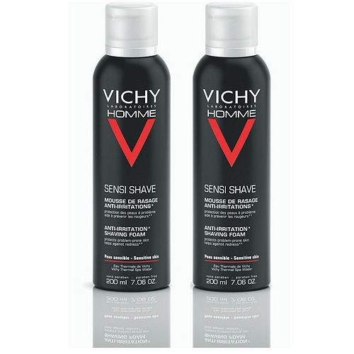 Vichye Homme mousse à raser 400ml