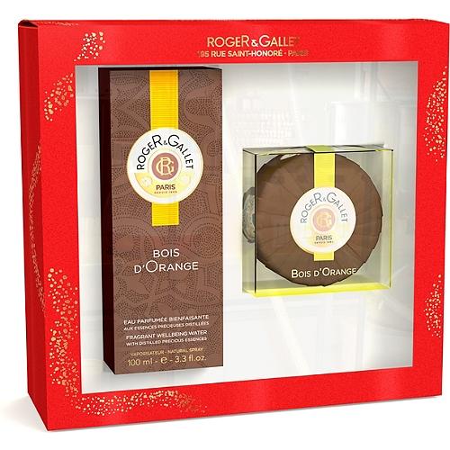 Coffret Bois d'Orange eau parfumée  100ml + savon bois d'orange 100g offert