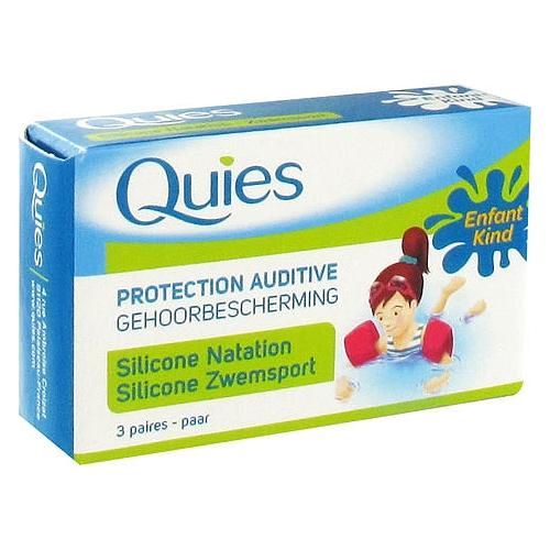 Protection auditive en silicone natation enfant x4
