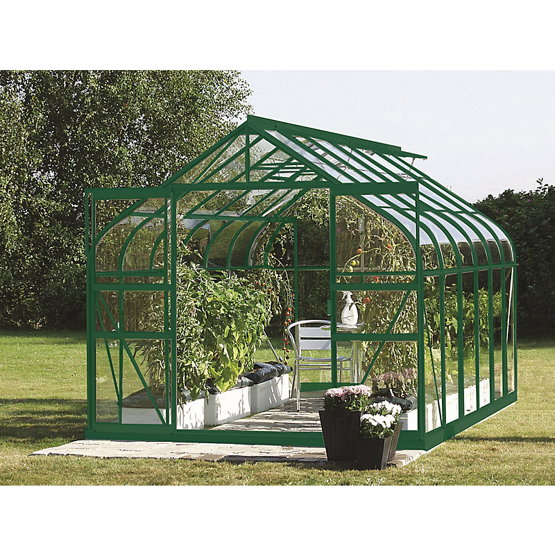 serre de jardin diana aluminium 9 85 m maison et loisirs e leclerc. Black Bedroom Furniture Sets. Home Design Ideas