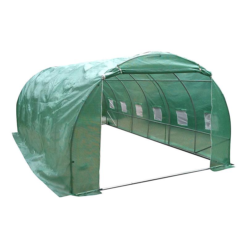 Serre tunnel acier galvanisé 18 m²