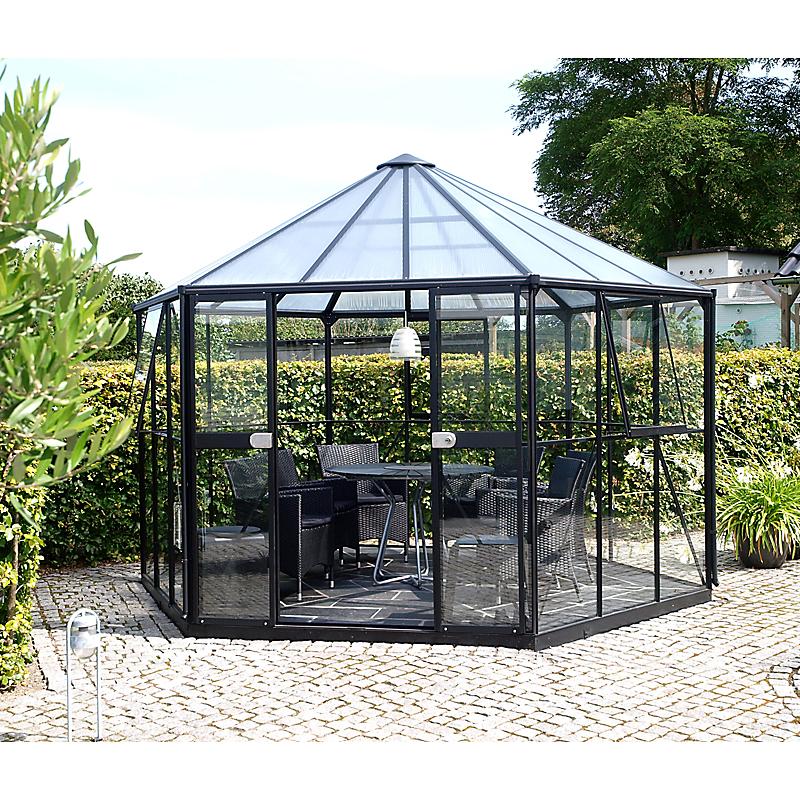 Serre de jardin aluminium HERA 9 m²