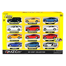 PACK 12 MINIATURES VOITURES - 344200S-12G