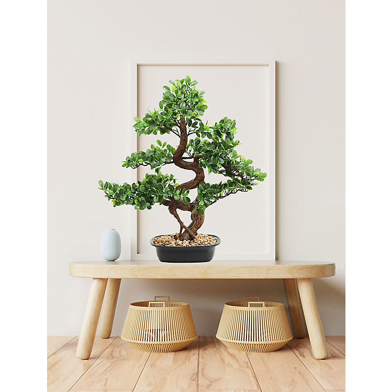 Bonsaï buisson Cajuput artificiel - H68cm