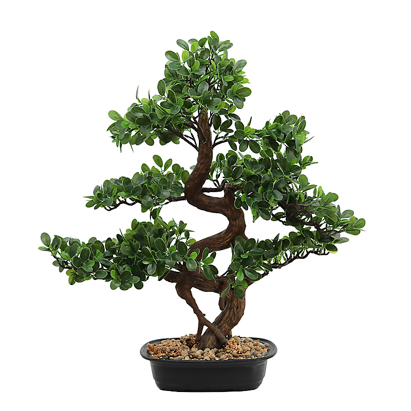Bonsaï buisson Cajuput artificiel - H68cm