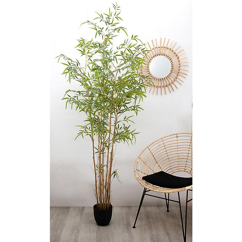 Bambou artificiel 1674 feuilles - H190cm