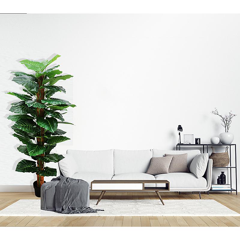 Plante Philo artificielle tronc coco - H180cm