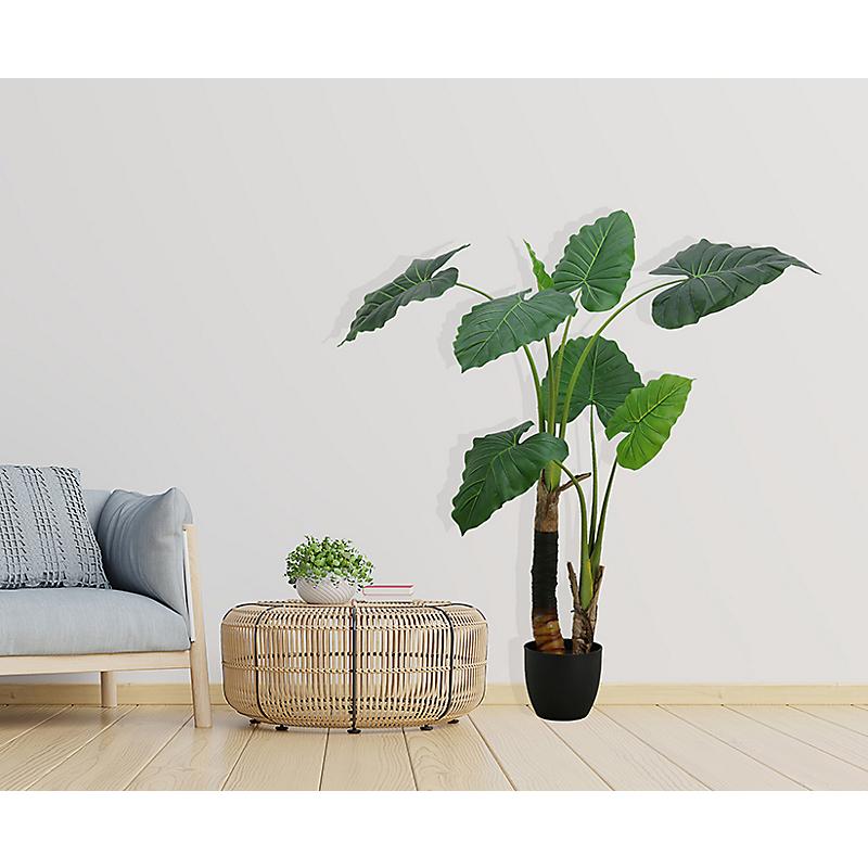 Plante philodendron artificielle 2 troncs - H120cm