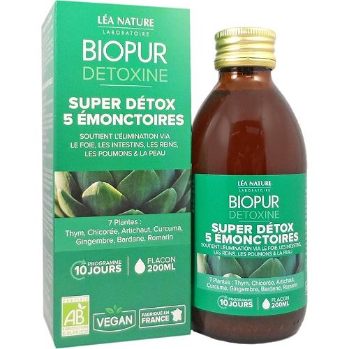 Detoxine super détox 5 émonctoires 200ml