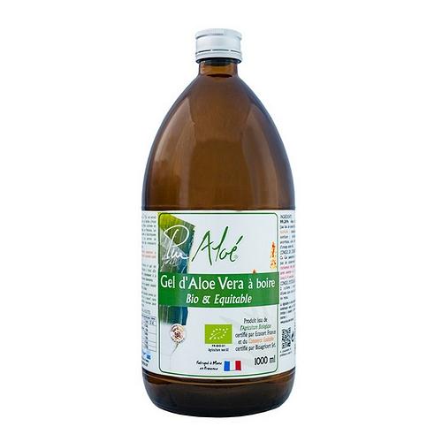 Gel d'aloé véra bio pasteurisé à boire 1L