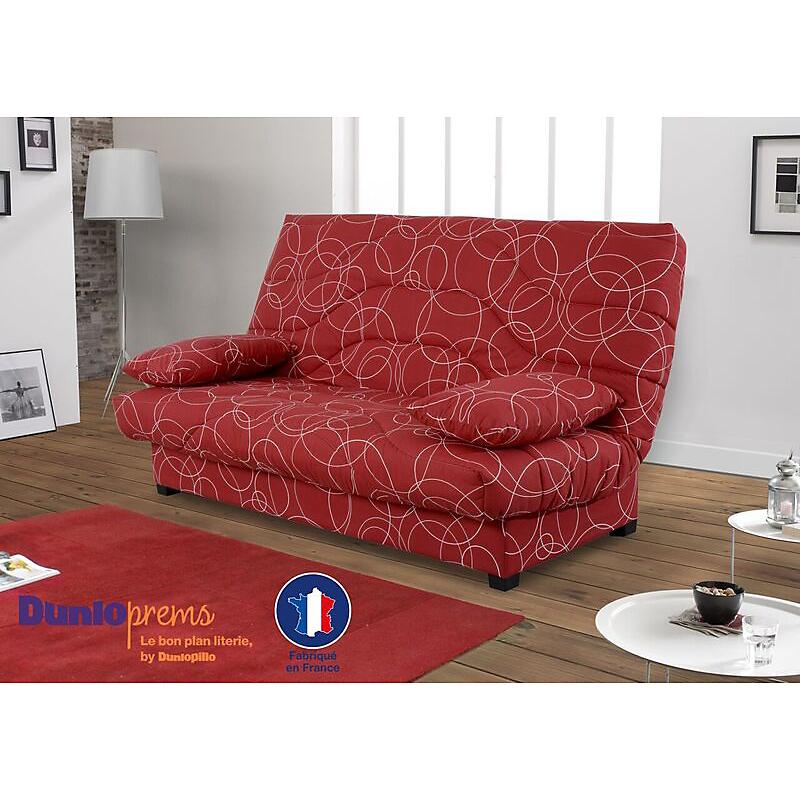 Canapé Clic Clac Mousse Dunlopillo Prem S Maison Et