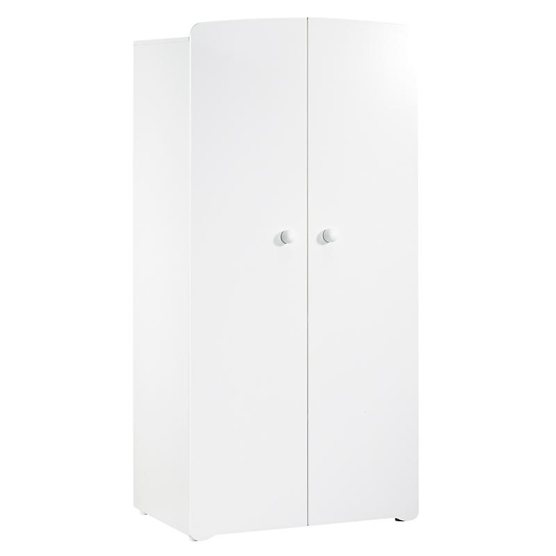 Armoire 2 portes - BASIC Blanc