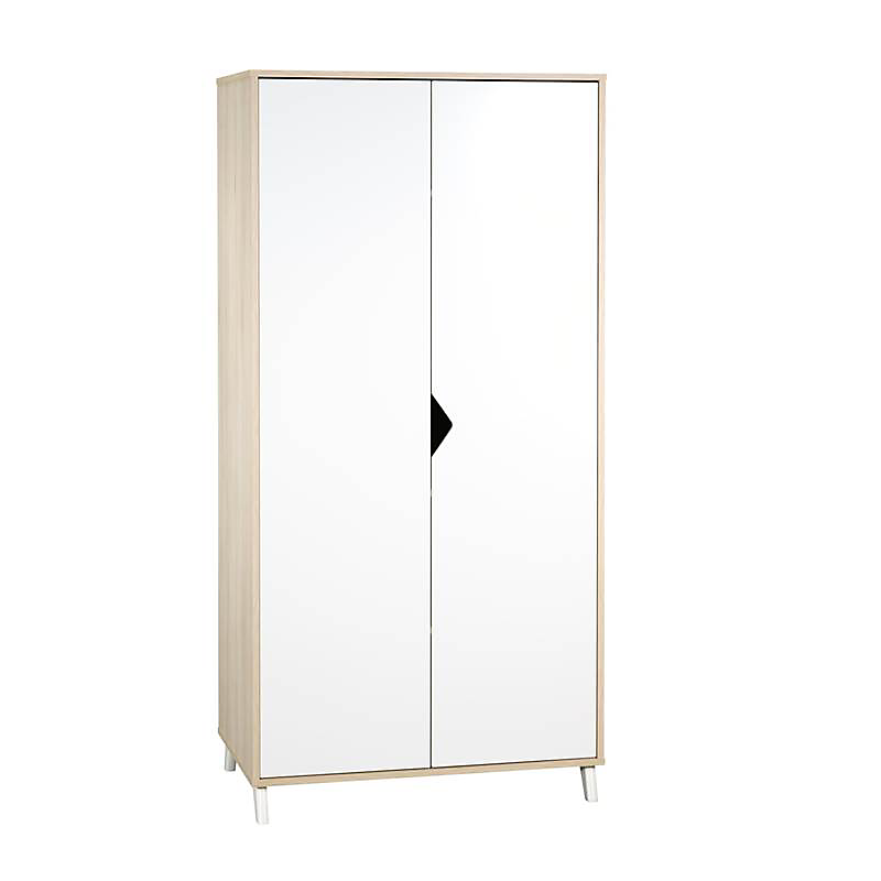 Armoire 2 portes - SCANDI NATUREL