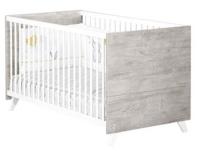 Lit bébé évolutif 140x70 - Little Big Bed SCANDI GRIS