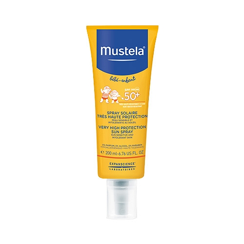8bf376a374559 Mustela Spray Solaire Très Haute Protection Spf 50+ 200ml | E ...
