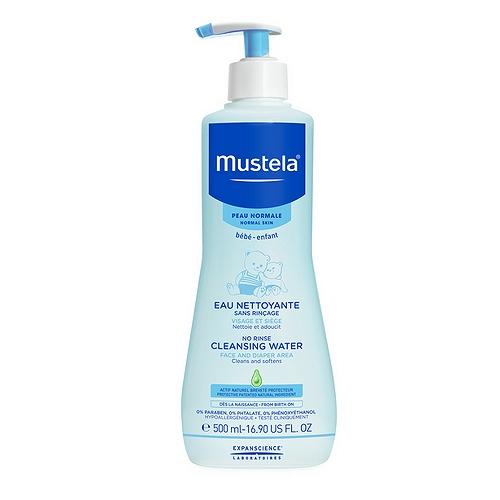 Mustela eau nettoyante sans rinçage 500ml