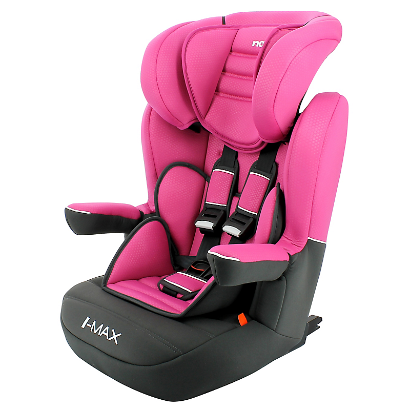 Siège-auto Imax Isofix Nania Luxe GPE 1/2/3 Rose