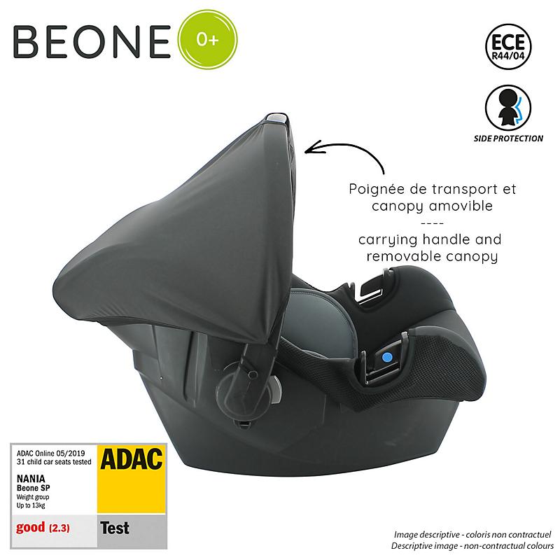 Siège auto Beone Access GPE 0+ Gris
