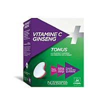 Vitamine c + ginseng - 24 comprimés