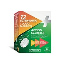 12 vitamines +7 oligo elements - 24 comprimés