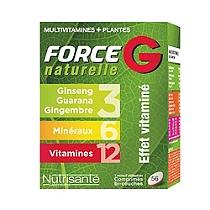Force g naturelle - 56 comprimés