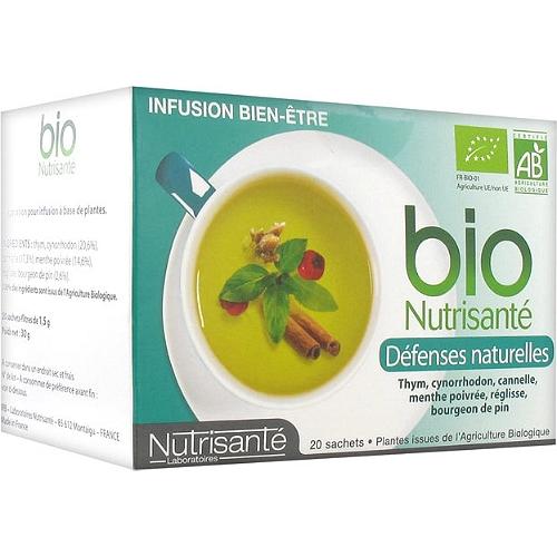 Infusion Bio défenses Naturelles 20 Sachets
