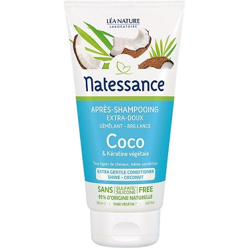 Après-shampoing extra-doux coco et kératine végétale 150ml