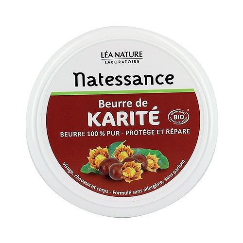 Natessance beurre de karité bio protège et répare 100 g
