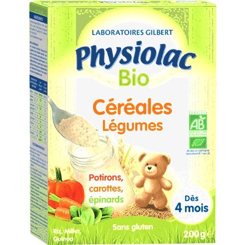 Céréales legumes  bio 200g- 4 mois