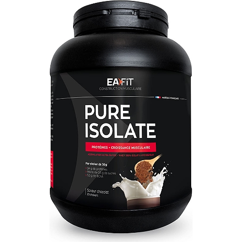 Pure Isolate croissance musculaire 750g