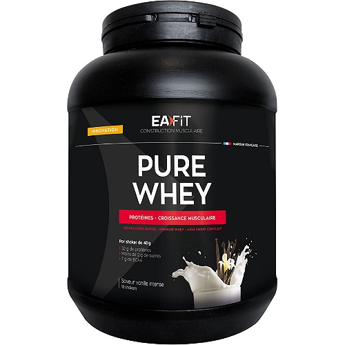 Construction musculaire pure whey 750g
