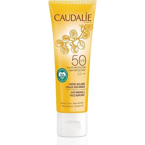 Crème solaire visage anti-rides spf50 - 50ml
