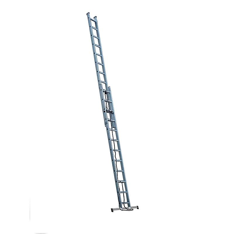 Echelle coulissante aluminium 2 x 13 échellons - ESCALUX