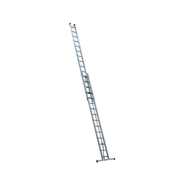 Echelle coulissante aluminium 2 x 15 échellons - ESCALUX