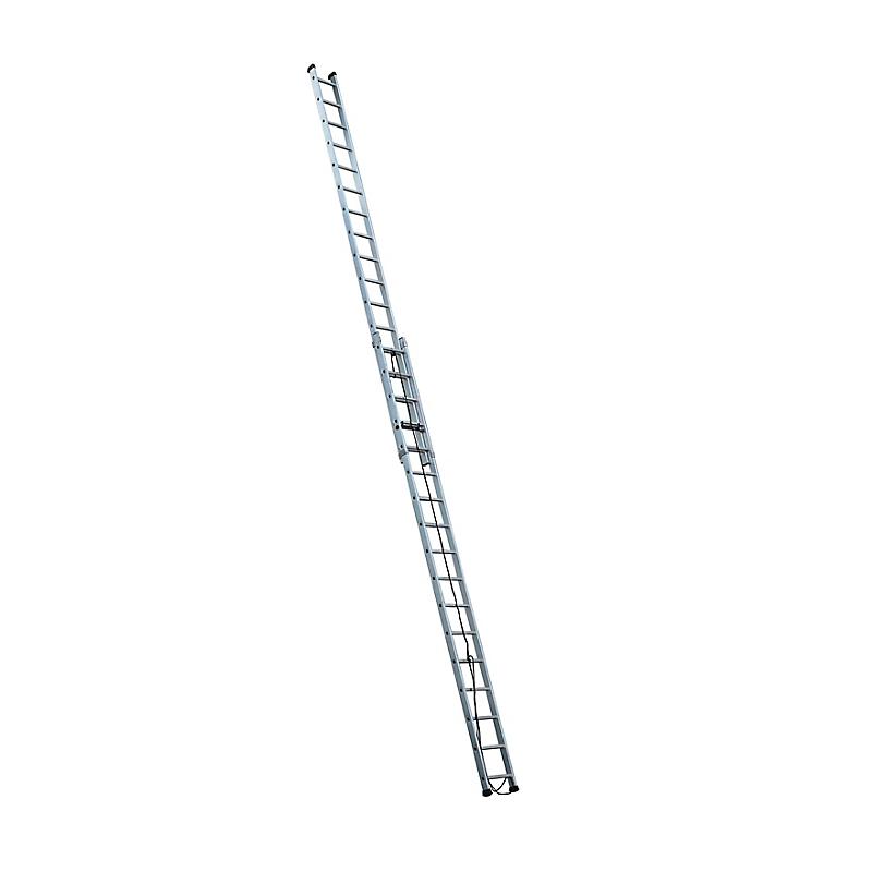 Echelle coulissante aluminium 2 x 17 échelons - ESCALUX