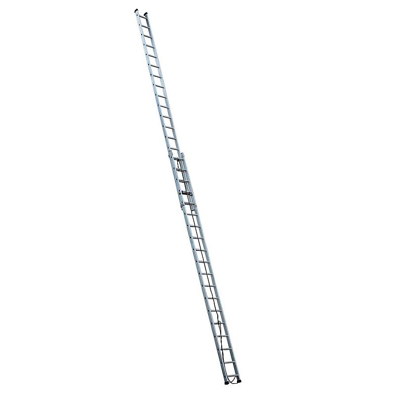 Echelle coulissante aluminium 2 x 19 échelons