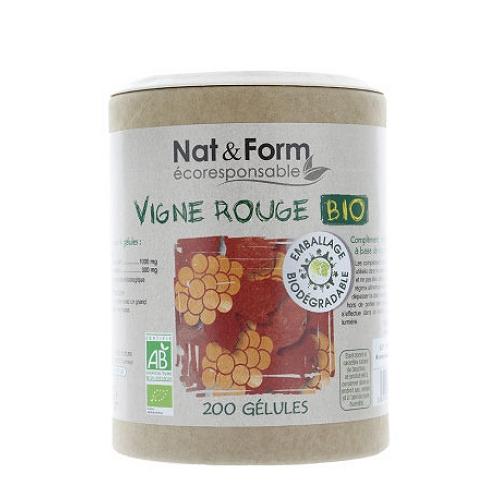 Complément alimentaire vigne rouge bio 200 gélules