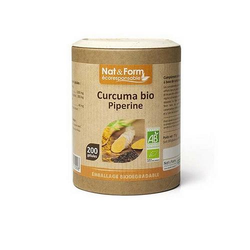 Curcuma piperine bio x 200