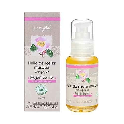 Haut-ségala huile de rosier musqué vierge biologique* 1ère pression à froid 50 ml