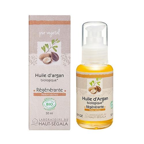 Haut-ségala huile d'argan vierge biologique* 1ère pression à froid 50 ml
