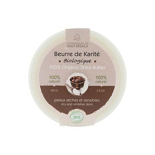 Beurre de karité biologique 120ml