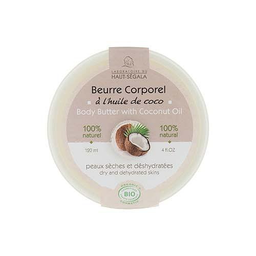 Beurre Coporel À L'Huile De Coco Biologique 120ml