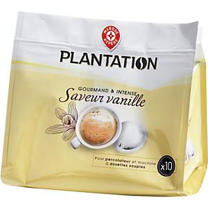 Dosettes Café Saveur Vanille X 10 70 G